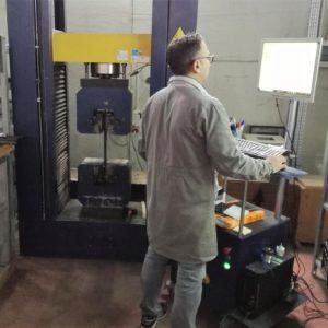 Il laboratorio prove e sperimentazioni su materiali da costruzione e strutture